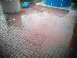 Укладка тротуарной плитки во дворе рис.2