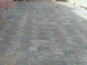 ладка тротуарной плитки на даче рис.3